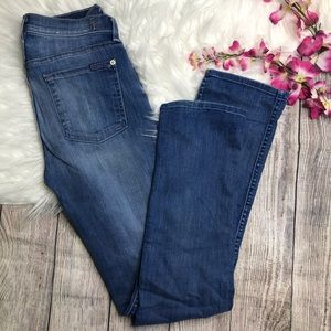 7 For All Mankind Modern Straight size 27 Jeans